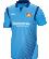 JAKO Bayer 04 Leverkusen BA4217S - Maillot Manches Courtes Homme Enfants Respirant Col Rond Plusieurs Tailles Couleur Bleu Ciel Logo Imprimé