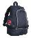 PATRICK GIRONA001 - Sac à Dos Très Fonctionnel Multiples Poches Rangement Pour Sport ou Loisir Couleurs Noir et Bleu Marin
