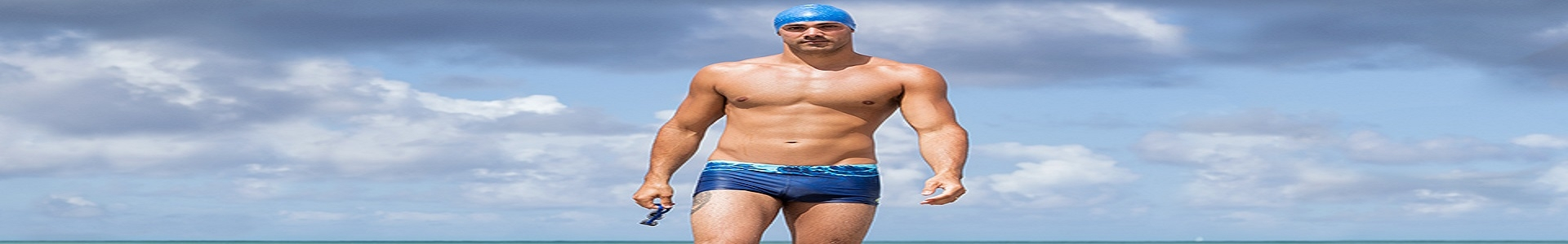 ExtraOffre Sport Banner Mens Clothing Swimwear Category