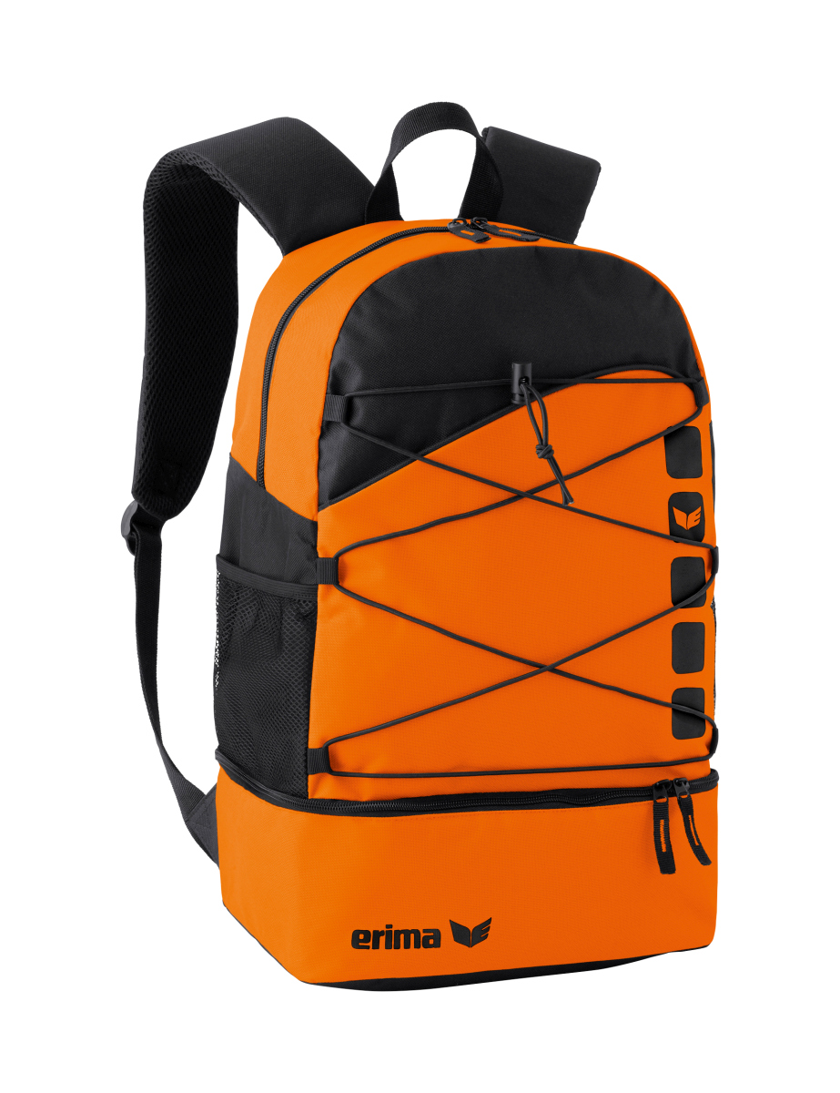 ERIMA 723365 Sac à Dos Club 5 Line Orange/Noir