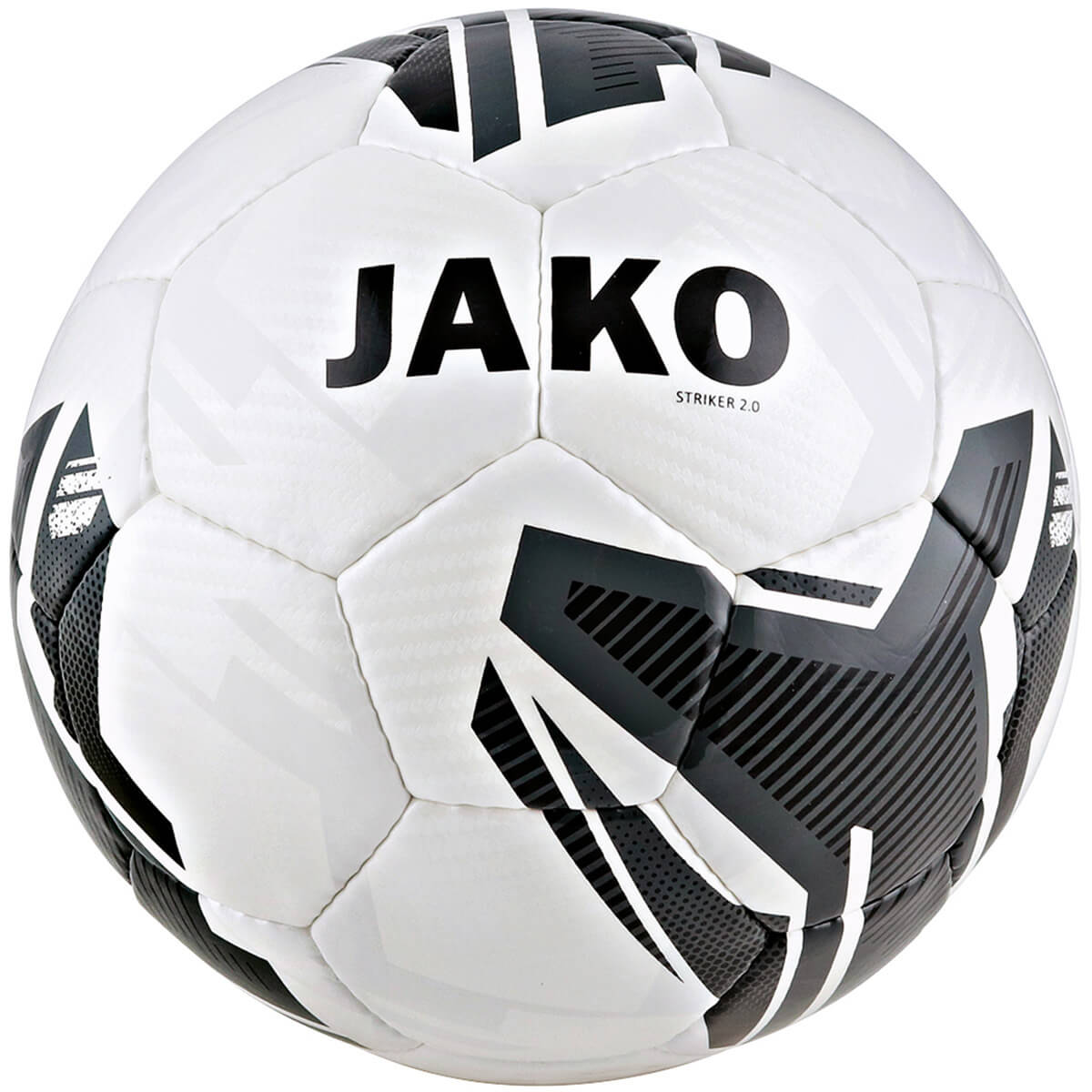 JAKO 2353-21 Ballon Entraînement Striker 2.0 Blanc/Anthracite