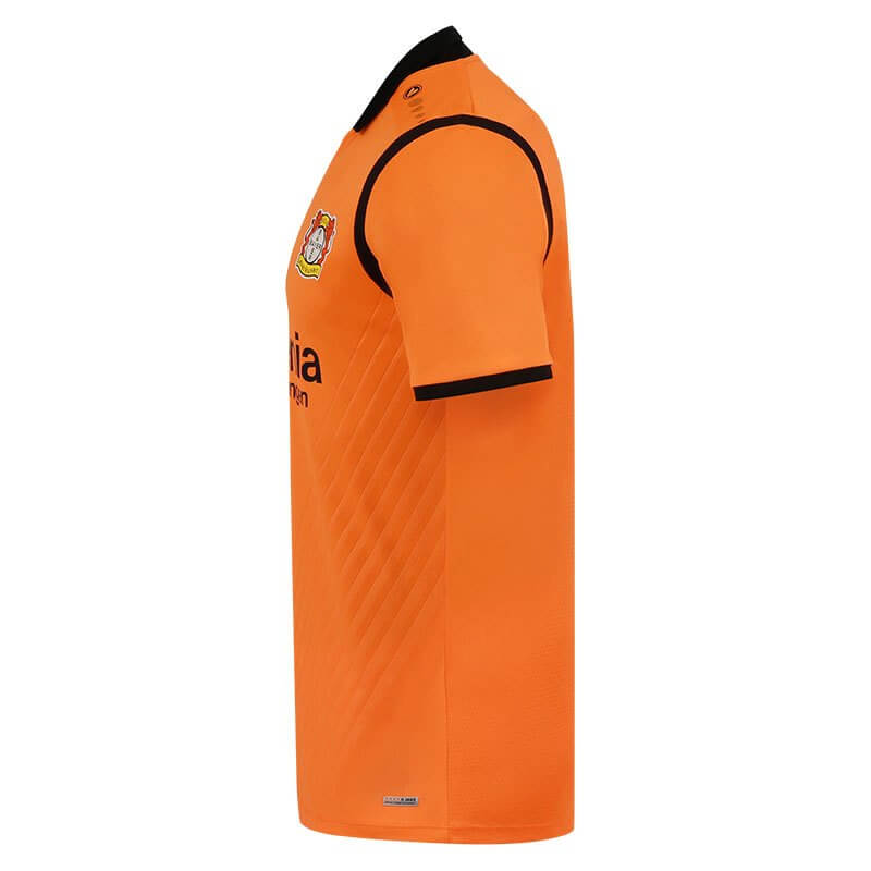 JAKO BA4217T-19-3 Maillot Gardien de But Manches Courtes Bayer 04 Leverkusen Orange Côté