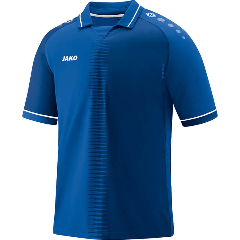 JAKO 4218-04 Maillot CM Competition 2.0 Bleu Royal/Blanc Face