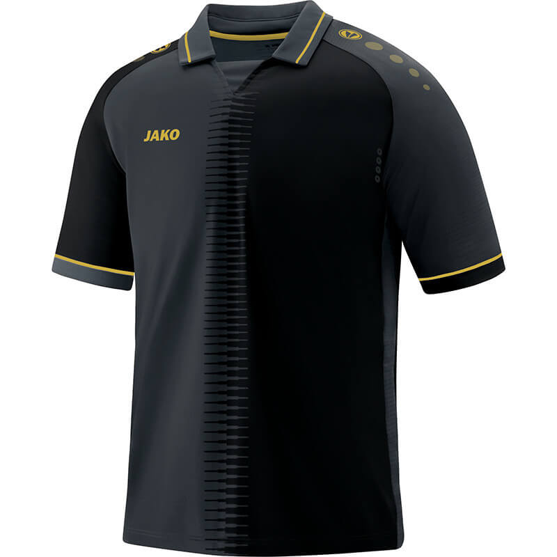 JAKO 4218-08 Maillot CM Competition 2.0 Noir/Or Face