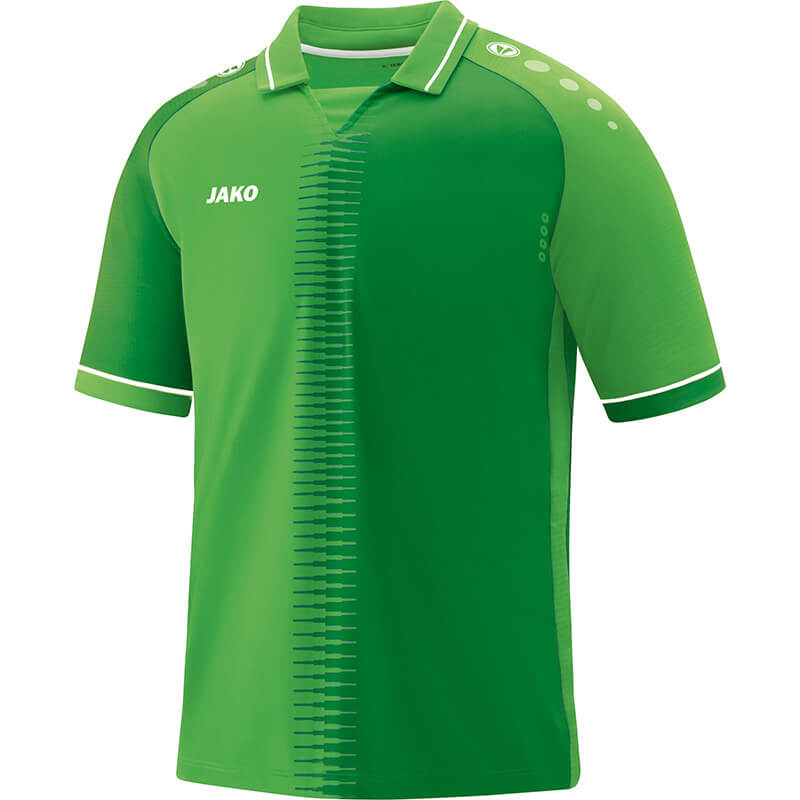 JAKO 4218-22 Maillot CM Competition 2.0 Vert Tendre/Blanc Face