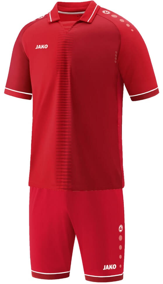 JAKO M4218-01 Maillot CM Competition 2.0 Rouge/Blanc Ensemble