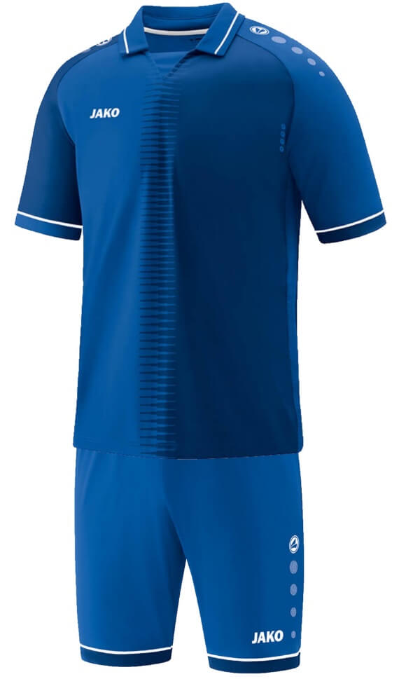 JAKO M4218-04 Maillot CM Competition 2.0 Bleu Royal/Blanc Ensemble