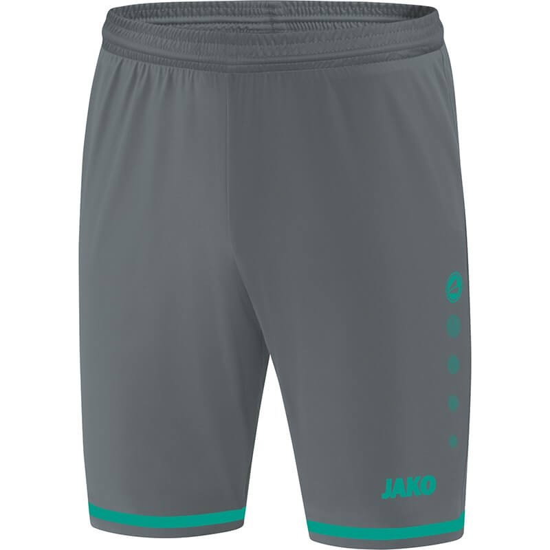 JAKO-4429-24 Short Striker 2.0 Anthracite/Turquoise