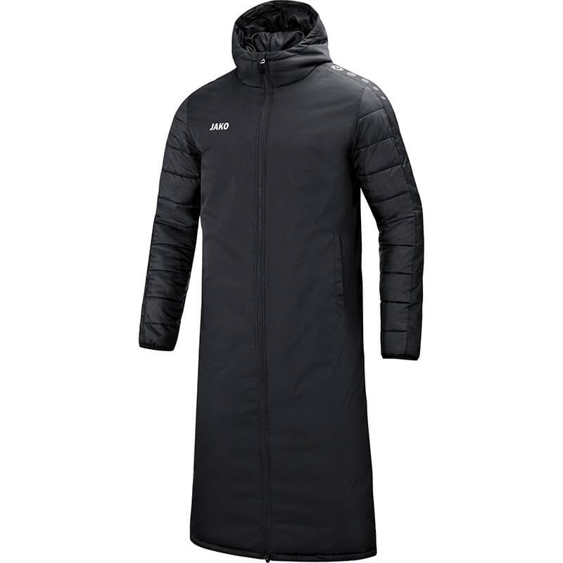 JAKO-7105-08 Manteau Long Team Noir