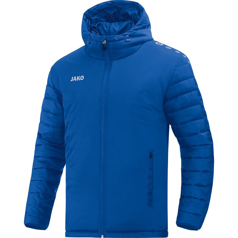 JAKO-7201-04 Veste de Stade Team Bleu Royal Face