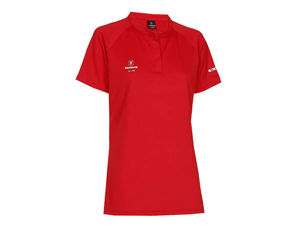 PATRICK EXCL101W-RED T-Shirt Polo Coupe Femme Rouge
