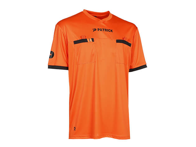 PATRICK REF101-ORA Maillot d'Arbitre de Football CM Orange